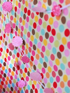 Pretty Paper Garlands - 4 Adorable Birthday Party Themes for Girls on HGTV