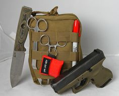 Gunshot Wound Kit | Bleeding Survival First Aid Kit | Active Shooter Trauma Kit - Doom and Bloom