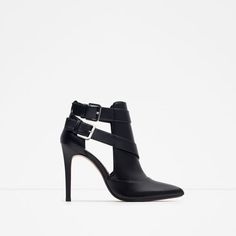 Image 1 of HIGH HEEL ANKLE BOOT STYLE SHOES from Zara