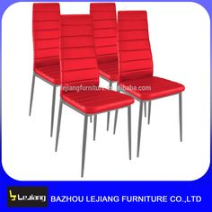 china wholesale modern furniture economic pvc metal dining chair A-117