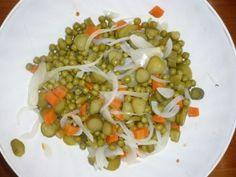 Falošný zemiakový šalát zo zeleru (fotorecept) - obrázok 1