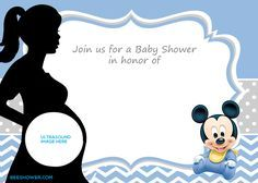 FREE Printable Disney Baby Shower Invitations Drevio Invitations - Free disney baby shower invitation templates