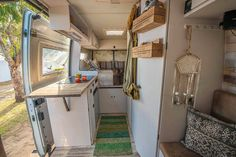 There's so much cool storage and organization in this camper van. The interior looks so bright and beautiful as well! This article gives me a lot of inspiration for when I start the #vanlife