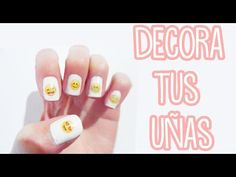Haz stickers/adhesivos para uñas - decora tus uñas - decoracion de uñas - Tutoriales Belen - YouTube