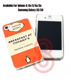 Breakfast at Tiffany's For iPhone 4/4s/5/5s/5c & by CHIMACHI, $7.79 Breakfast At Tiffanys, Project Ideas, Projects, Iphone 4, Phone Cases, Books, Livros, Ideas For Projects, Breakfast At Tiffany's