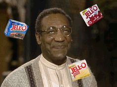 Happy National Jell-O Week! To celebrate this delicious holiday, we skipped around the Internet looking for the best Bill Cosby GIFs.