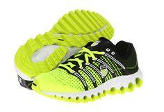 """""""K-Swiss Tubes Run 100"""" neon yellow running shoes"""