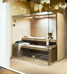 Coolest And Cozy Home Sauna Design Ideas 14 Sauna Steam Room, Sauna Room, Steam Bath, Home Spa, At Home Gym, Sauna Design, Small Space Interior Design, Best Cleaning Products, New Toilet