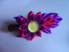 Канзаши hand made) украшение заколочки для волос  Канзаши