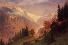 Albert Bierstadt #OLD_WORLD