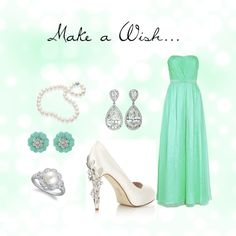 If I were going to prom... Make a Wish, created by clareary on Polyvore