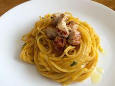 Aprende a preparar espaguetis con salsa de calabaza con esta rica y fácil receta. En esta receta de RecetasGratis.net aprenderemos a realizar unos espaguetis con...
