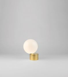 Sigmar | Shop | Lighting | Tip of the Tongue Table Light Cast Polished Brass