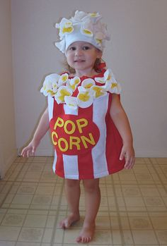 Popcorn Costume... Fit is very roomy and forgiving- will even fit over a coat if its cold outside! (Adult sizes are based on unisex t-shirt sizes.) Click here to ask me a question: http://www.etsy.com/conversations/new?with=notthekitchensink&ref=pr_contact Its not a good idea to