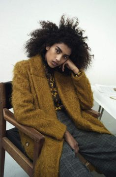 Imaan Hammam by Max Farago for Vogue UK August 2015