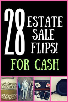 Great ideas on reselling stuff from estate sales!