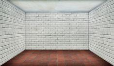 Free Image on Pixabay - Space, Empty, Brick, White Tile Wallpaper, Grey Brick, Original Wallpaper, Modern Kitchen Design, Kitchen Designs, Kitchen Ideas, Sound Proofing, Trends, Interior Walls