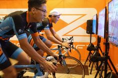 Zwift a multiplayer game thats making indoor athletics more social just raised $27 million If you havent heard of Zwiftfounded two years ago in Long Beach Ca. you arent alone. But investors have been followingthe company. Itsmassive multiplayer video game technology which right now caters to indoor cyclists just attracted$27 million in Series A funding in a round that brings Zwiftstotal funding to $45 million.  The round was led by the private equity firm Novator Partners out of London which…