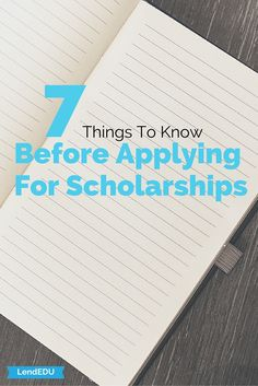 Check out these 7 tips you must know before applying for scholarships!