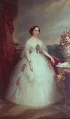 1857 Princess Charlotte by Nicaise de Keyser (Antwerpen Städhuis, Antwerpen Belgium)