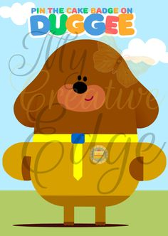 Hey Duggee - Party Game - Pin the Cake Badge on Duggee by on Etsy 2nd Birthday Parties, Birthday Fun, Birthday Ideas, Diy Party, Party Ideas, Jungle Party, Party Games, Painted Rocks, First Birthdays