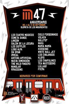 Cielo Pordomingo en Concierto - #Metro  #MetroCDMX #CDMX #Mexico #CieloPordomingo #47Aniversario #SubteMexico #GlorietaDeLosInsurgentes
