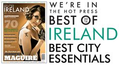 The g Hotel & Spa was named in the country's Best City Essentials in the Hot Press Best of Ireland 2014 magazine www. Best Of Ireland, Hotel Spa, Best Cities, Awards, Essentials, Magazine, Country, City, Rural Area