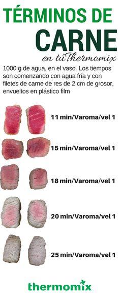 Aprende a cocinar tu carne en Thermomix con el término exacto, quieres saber cómo? Aquí te decimos…