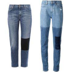 MiH Jeans The Phoebe slim low-slung boyfriend jeans, $143, matchesfashion.com Paige patchwork boyfriend jeans, $239, farfetch.com