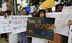 Pakistan 'honour killing' inquiry exonerates police. Grotesque. Unbelievable. A disgrace to the country called Pakistan.