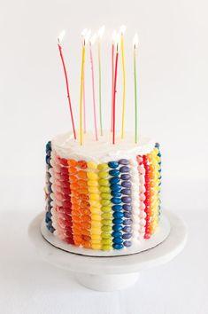 Jelly Bean Layer Cake