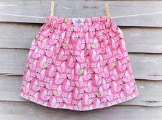 Beautiful girls winter fox skirt now available from my Etsy shop https://www.etsy.com/uk/listing/495949643/christmas-skirt-girls-winter-skirt