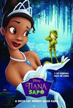 Pel·lícula d' animació de la factoria Disney la història gira al voltant d'una jove anomenada Tiana i un príncep convertit en gripau que vol recuperar la seva forma humana i un petó que els porta a una aventura a través dels paisatges de Louisiana .