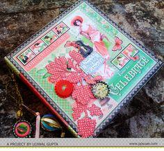 Mini Album with Die-cut embellishments by DT Member Ujjwal Gupta