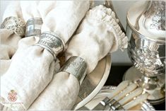 Collecting Antique Silver Servingware - Romantic Homes