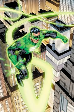 Jim Lee redesigns Green Lantern Kyle Rayner's uniform.