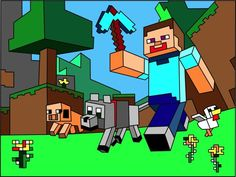 Coloring Pages Roblox : Minecraft coloring minecraftpages on pinterest