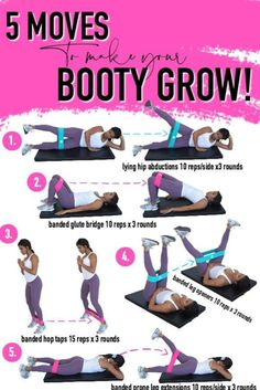 5 moves to grow booty at home