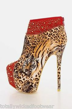 5d51a9189a46 Totally Wicked Footwear Leopard Fashion