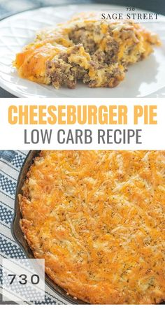This low carb cheeseburger pie recipe makes a quick, easy and delicious keto dinner. This low carb cheeseburger pie recipe makes a quick, easy and delicious keto dinner. Keto Foods, Healthy Low Carb Recipes, Low Carb Dinner Recipes, Keto Dinner, Gourmet Recipes, Diet Recipes, Smoothie Recipes, Dessert Recipes, Low Carb Crockpot Recipes