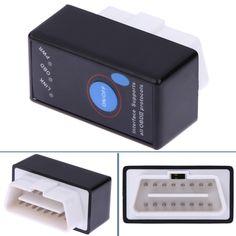 Mini Bluetooth ELM 327 OBD2 OBDII Lettori di Codici a ELM327 Attrezzo di Esplorazione Diagnostica Auto Scanner Tester Per Android di Windows Symbian