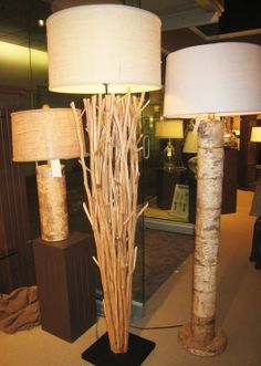 homemade lamps ideas - Google Search