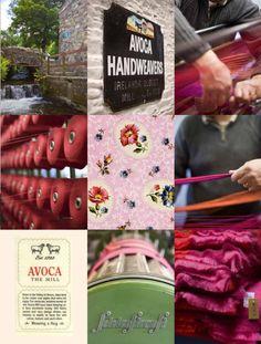 Avoca History - Avoca Handweavers Since 1723, Mill At Avoca Village, Throws, Wool, Tweeds, Blankets