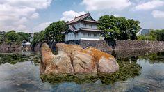 中国は巨大な丸石を皇居の堀に投げ捨て、領有権を主張する