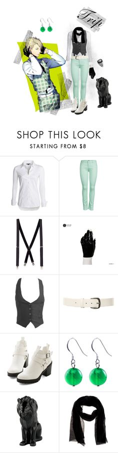 """""""Trip Casual Cosplay (DRAMAtical Murder / DMMd)"""" by psychometorzi ❤ liked on Polyvore featuring NIC+ZOE, ONLY, Topman, Wet Seal, Lalique and Atmos&Here"""