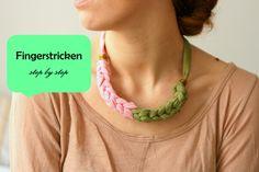 necklace DIY (T-Shirt)
