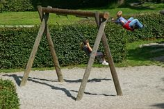 How to Design a Wooden Swing Set
