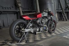 Harley-Davidson FLH Cafe Racer by Tricana Motorcycles #motorcycles #caferacer #motos | caferacerpasion.com