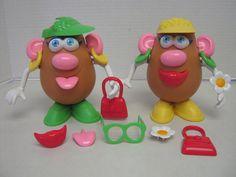 Mrs Potato Head Lot Accessories 31 Pieces Hasbro Playskool #Hasbro