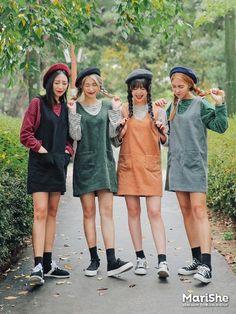Kore girls cool fason